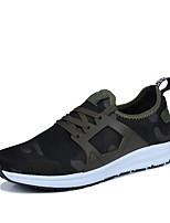 Homme-Extérieure Décontracté SportTalon Plat-Confort-Chaussures d'Athlétisme-Tulle