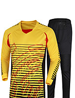 Women's Men's Soccer Tracksuit Sweat-wicking Spring Summer Fall/Autumn Winter Polyester Exercise & Fitness Racing RunningYellow Green Red