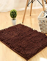 Casual Polyester Bath Rugs 100*150cm