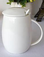 Минимализм Стаканы, 300 ml DIY Maker Керамика Телесный Молоко Каждодневные чашки / стаканы