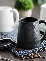 minimalismo Artículos para Bebida, 414 ml Don novio Regalo novia Cerámica Marrón Café Leche Tazas de Café