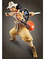 Figuras de Ação Anime Inspirado por One Piece Usopp PVC 24 CM modelo Brinquedos Boneca de Brinquedo