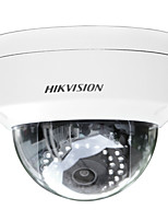 Hikvision® ds-2cd2135f-iws version multi-langue 3mp dome ip camera intérieur (h.265 poe ip67 ik10 intégré sd slot wifi 30m ir)