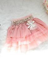 New Fashion Girls Tutu Skirts Baby Ballerina Skirt Childrens Chiffon Kids Casual Candy Color Skirt