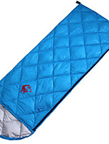 Sleeping Bag Rectangular Bag Single 5 10 15 Duck Down72 Camping OutdoorMoistureproof/Moisture Permeability Waterproof Breathability