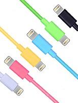 Lightning USB 3.0 Cordon Câble de Charge Câble de Chargeur Données & Synchronisation Normal Câble Pour Apple iPhone iPad 100 cm Plastique