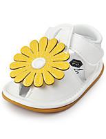 Желтый Красный Розовый-Дети-Для прогулок Повседневный-Дерматин-На низком каблуке-Обувь для малышей-На плокой подошве