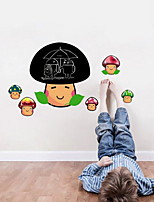 Cartoon Blackboard Wall Sticker Vinyl Material Home Decoration