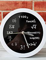 Модерн Море Настенные часы,Новинки Акрил Металл 12 В помещении Часы
