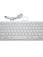 mini-teclado externo usb teclado do notebook ultra-fino teclado mini de chocolate teclado de computador com fio