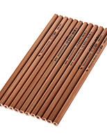 Wood Black Ink Pencils Hb 1 Set of 12 PCS