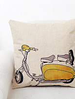 1 pcs Polyester Pillow Cover,Novelty Traditional/Classic