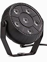 U'King® 9W 6LED RGB 3 in 1 Plastic Stage Effect Par Light Auto/ Voice Control 1pcs