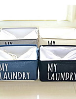 Storage Boxes Storage Bags Storage Baskets Textile withFeature is Open  For Underwear Cloth Cotton And Linen Storage Box