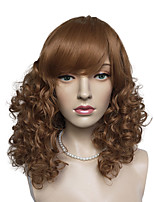 Capless Depp Wave Synthetic Fiber Wig Cosplay Costume Long Women Wig Heat Resistant Hair