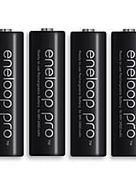 ENELOOP 3HCCA AA Nickel Metal Hydride Battery 1.2V 2450mAh 4 Pack