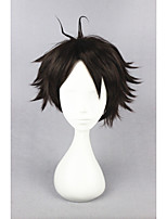 court haikyuu !! - Oikawa tooru brune perruque cosplay anime 12inch cs-186j