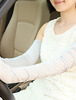 Cotton Lace Half Finger Opera Length,Jacquard Cute Party Work Casual