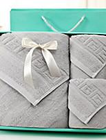 Ensemble de serviette de bainSolide Haute qualité 100% Coton Serviette