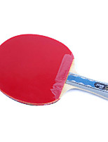 6 étoiles Ping Pang/Tennis de table Raquettes Ping Pang Bois Long Manche Boutons