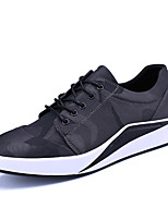 Men's Sneakers Spring Summer Comfort Canvas Outdoor Office & Career Athletic Casual Lace-up Walking