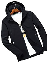 Men's Jacket Tops Thermal / Warm Windproof Spring Fall/Autumn Light Gray Black Army Green