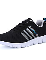 Черный Серый Морской синий-Для мужчин-Для прогулок Повседневный Для занятий спортом-Тюль-На плоской подошве-Удобная обувь Туфли Мери-Джейн