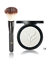 Color Women Cosmetic Makeup Highlighter Pressed Powder Makeup Contour Highlight1pc Blusher Brush