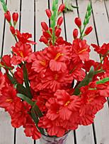 1 Une succursale Plastique Orchidées Fleur de Table Fleurs artificielles 80