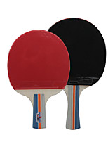 Table Tennis Rackets Table Tennis Ball Ping Pang Rubber Long Handle Pimples 2 Rackets 3 Table Tennis Balls 1 Table Tennis BagOutdoor