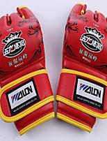 Профессиональные боксерские перчатки Тренировочные боксерские перчатки для Бокс Без пальцевУдаропрочность Износостойкий Анатомический
