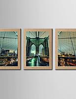 Фотографические отпечатки Известные картины Пейзаж Классика Реализм,3 панели Вертикальный панорамный Печать Искусство Декор стены For