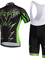 AOZHIDIAN Summer Cycling Jersey Short Sleeves BIB Shorts Ropa Ciclismo Cycling Clothing Suits #AZD142