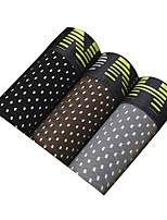 3Pcs/Lot Men's Fashion Sexy Hollow-out Boxers Underwear Cotton Soft Panties