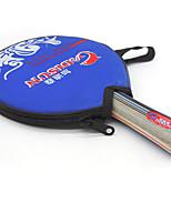 1 Etoile Ping Pang/Tennis de table Raquettes Ping Pang Bois Long Manche Boutons Intérieur Utilisation Exercice Sport de détente-#
