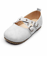 Boys' Flats Spring Fall Comfort Cowhide Wedding Outdoor Office & Career Party & Evening Casual Flat Heel Magic Tape