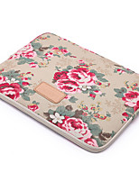 for Touch Bar Macbook Pro 13.3/15.4 Macbook Air 11.6/13.3 Macbook Pro 13.3/15.4 Peony Pattern Design Shockproof Laptop Sleeve Bag
