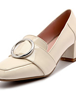 Heels Spring Summer Fall Winter Club Shoes Patent Leather Office & Career Dress Casual Chunky Heel
