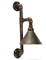 Water Pipe Wall Lights  Retro Industrial Style Creative Country Metal Restaurant Cafe Bars Bar Table Wall Sconces
