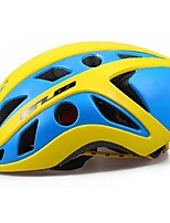 Sports Unisex Bike Helmet 22 Vents Cycling Cycling PC EPS Yellow