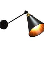 AC220V-240V 4W  E27 Led Lights Buzz Paint Single Wall Iron Wall Lamp Dumb Black Lightsaber Lamp On Wall