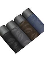 4Pcs/Lot Men's Fashion Sexy Lip Love Printed Boxers Underwear Cotton Soft Panties