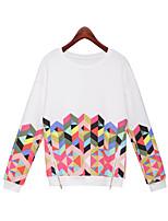Aliexpress осень в Европе и Америке с длинными рукавами блузка футболка печать свитер