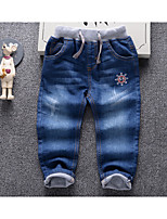 Boys' Going out Casual/Daily Print Pants-Cotton Spring