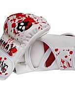 Боксерские перчатки Тренировочные боксерские перчатки для Бокс Боевоеискусство Тхэквондо Без пальцевУдаропрочность Износостойкий