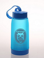 De colores Al Aire Libre Artículos para Bebida, 320 ml Portable Plástico Agua Botellas de Agua