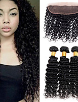 One Pack Solution Brazilian Texture Deep Wave 12 Months 4 Pieces hair weaves