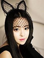 Masque en Dentelle Sexy Nouveautés & Farces 1 Anniversaire Halloween Mascarade Tissu