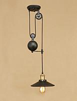 Lampe suspendue ,  Rétro Rustique Peintures Fonctionnalité for Style mini Designers MétalChambre à coucher Salle à manger Bureau/Bureau
