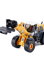 Pull Back Vehicles Model & Building Toy Forklift Metal